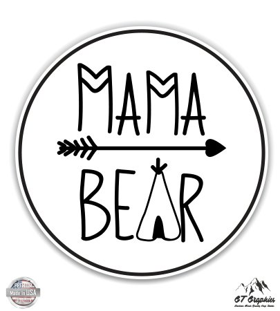Momma Pad - Mama Bear Camping Outline - 3
