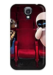 S4 Scratch-proof Protection Case Cover For Galaxy/ Hot Wall E And Eve In Theater Phone Case