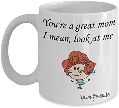 Funny Coffee Mug Birthday Gifts For Mom Best Unique Present Grandma Perfect Novelty Christmas Idea Mother From Son Or