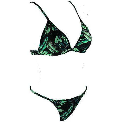 TOYUN Split Traje De BañO Bikini Triangular Vacaciones En La Playa