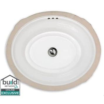 American Standard 0484 000 Estate 19 1 8 Quot Undermount Fireclay Bathroom Sink With