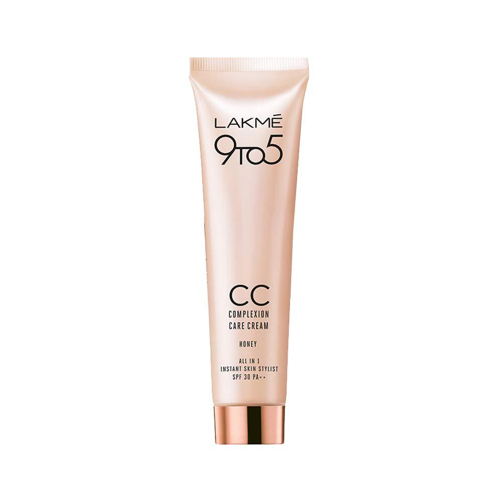 Lakmé 9 To 5 Complexion Care CC Cream, Honey, 30G