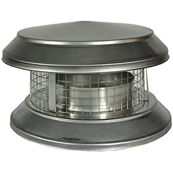 Amazon Com Dura Vent Duraplus 9084 6 Inch Chimney Cap