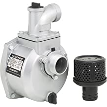 Semi-Trash Water Pump ONLY - For Straight Keyed Shafts, 2in. Ports, 7860 GPH