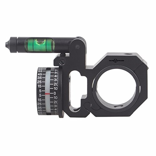 TAC Vector Optics Riflescope 30mm with 1 Inch Angle Indicator Bubble Level ACD Scope Mount Ring
