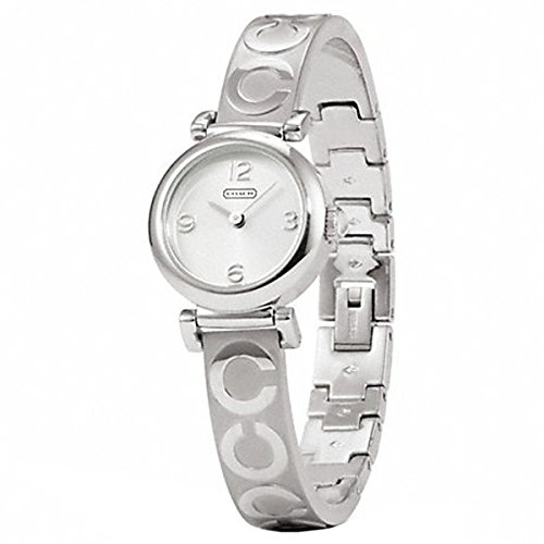 Coach Madison Stainless Steel Signature Bangle Watch W1156