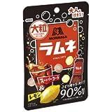 森永 大粒ラムネ スーパーコーラ&レモン X1箱(10袋)