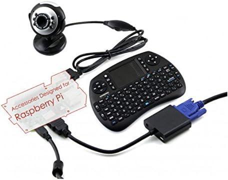 Wendi Raspberry Pi Accessories Pack C (No Pi) with Camera, Mini ...