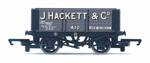 Hornby 00 Gauge 76mm J Hackett and Co 6 Plank Wagon Model