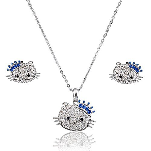Mall of Style Hello Kitty Jewelry Set for Girls - Teenage Jewelry (Crown)
