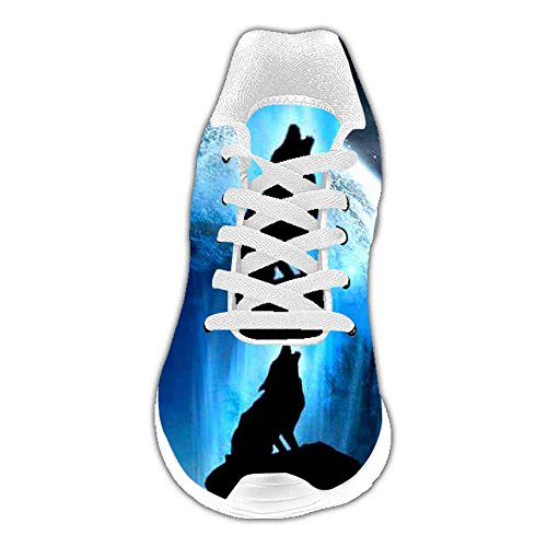 Las Dalliy Corrientes Personalizado Lobo C De Zapatos Mujeres R4X14rnq