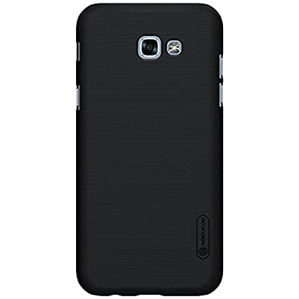 new product 4be50 2dbf4 Nillkin Frosted Shield Hard Back Cover Case For Samsung Galaxy A5 (2017)  (5.2 inch) (New Model)- Black