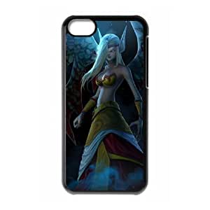 iPhone 5c Cell Phone Case Black League of Legends Exiled Morgana LWY3578419KSL