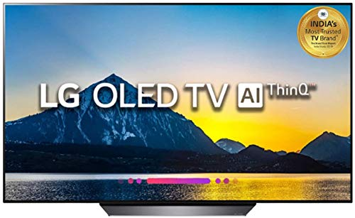 LG 139 cm (55 Inches) 4K UHD OLED Smart TV OLED55B8PTA (Black) (2018 model)
