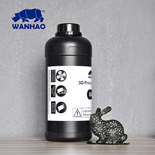 Wanhao 3D-Printer UV Resin - 1000 ml - Black 22341