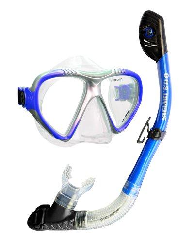 U.S. Divers Adult Magellan Purge LX Mask/Tucson LX Snorkel