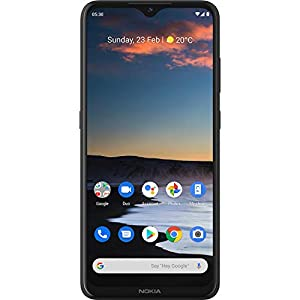 Nokia 5.3 Android One Smartphone with Quad Camera, 4 GB RAM and 64 GB Storage – Charcoal