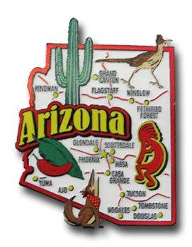 Arizona - Magnet (Shaped Fridge Magnet)