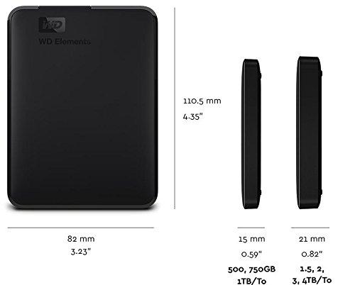 WD 3TB Elements Portable External Hard Drive - USB 3.0 - WDBU6Y0030BBK-WESN by Western Digital (Image #4)