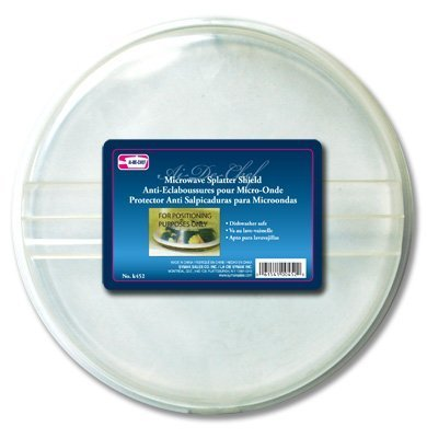 Amazon.com: Al-de-chef Microwave Splatter Shield: Splatter ...