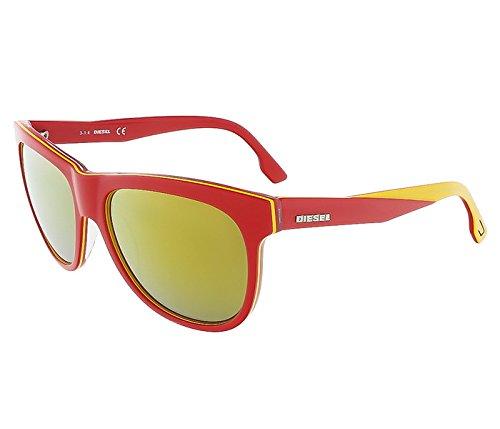 SWAROVSKI DOLLY Plastic 001 - shiny black 54 001 - shiny - Sunglasses Red Diesel