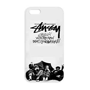 JiHuaiGu (TM) iPhone 5 5s funda STUSSY personalizado temático iPhone 5 5s funda OK4225