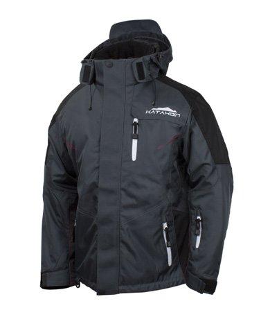 Xl Sports Apex >> Amazon Com Katahdin Apex Mens Snow Jacket Gray Xl Sports