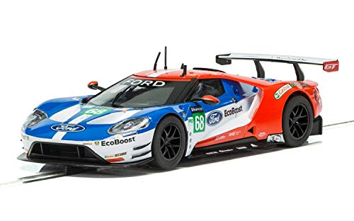 Scalextric Ford GT GTE No. 68 Le Mans 1:32 Slot Race Car C3857