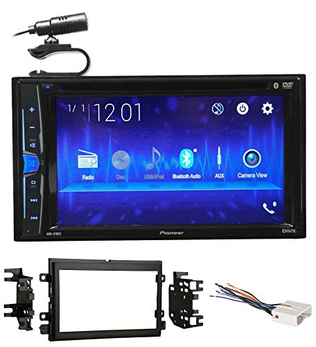 Pioneer Pro Dvd Player - Pioneer DVD/CD Bluetooth Receiver iPhone/Android/USB for 2004-2006 Ford F-150
