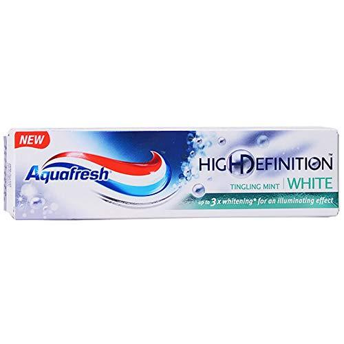 Aquafresh High Definition White Tingling Mint Fluoride Toothpaste 75ml