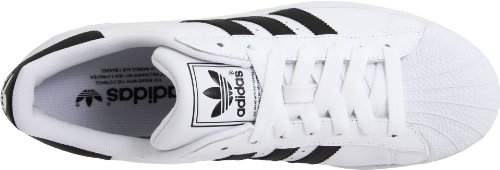 Adidas Originali Mens Superstar Ll Sneaker Bianco / Nero / Bianco