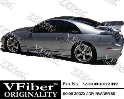1990-1996 Nissan 300ZX 2dr Body Kit Invader Side Skirt
