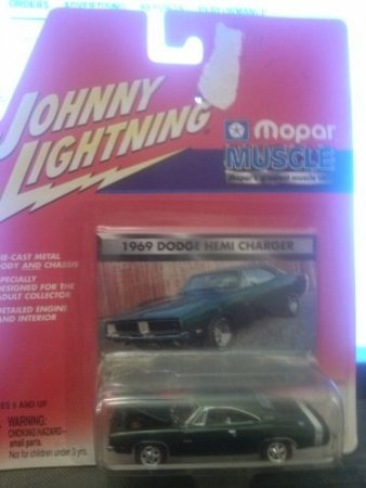 (Johnny Lightning Mopar Muscle 1969 Dodge Hemi Charger)