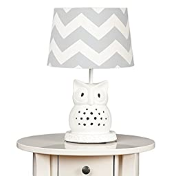 Living Textiles Lamp Base and Shade, Owl
