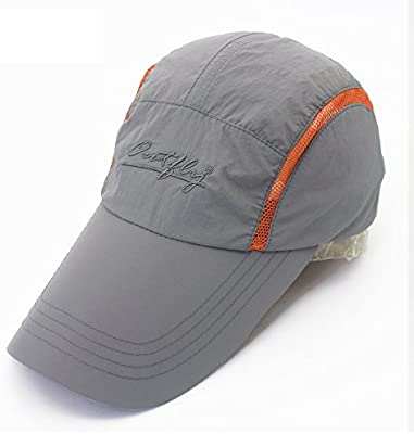 GR Alargar el Sombrero y el Protector Solar seco y Transpirable Sombrero  del Sol Gorra de Pesca Gorra Nuevo Visera Tenis Primavera y luz del Verano  (Color ... 892d88f7392