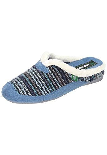 Dr. Pantofola Donna Brinkmann Blu Blu