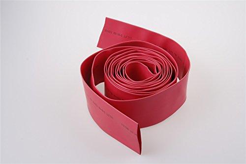 100m 2:1 1KV High Voltage Red Insulation Bus Bar Heat Shrink Tubing 50mm