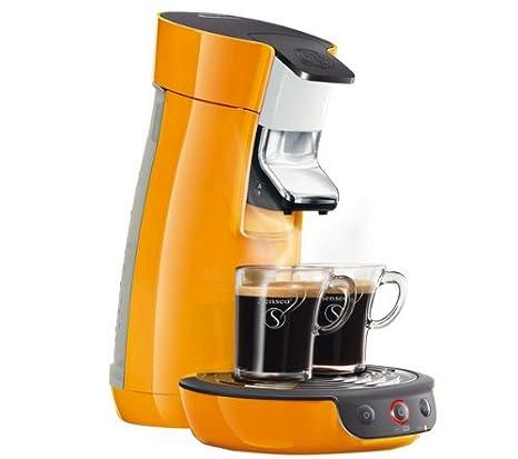 PHILIPS Cafetera Senseo Viva Café HD7825/21 - naranja ...