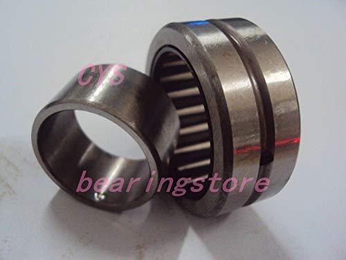 Fevas NKI NA 25x38x20 NKII25/20 Needle Bearing with Inner Ring 25mm Shaft ()