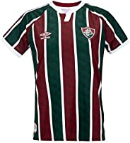 Camisa Umbro Fluminense Juvenil Oficial 1 2020 - Torcedor (12 Anos)