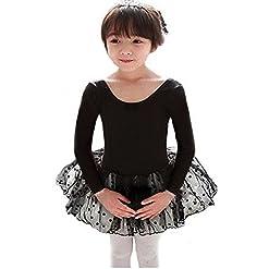 Cosplay Long & Short Sleeve Tutu Ballet Dress for Little Girls 2-7 Years 41p0VGLzvmL