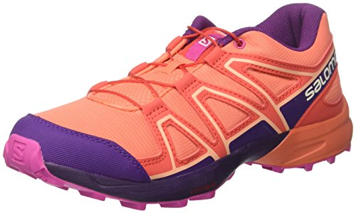 Coral Trail Living Violet Salomon Acai Unisex J Shoe Rose Running Kids Speedcross Sx8wqC7