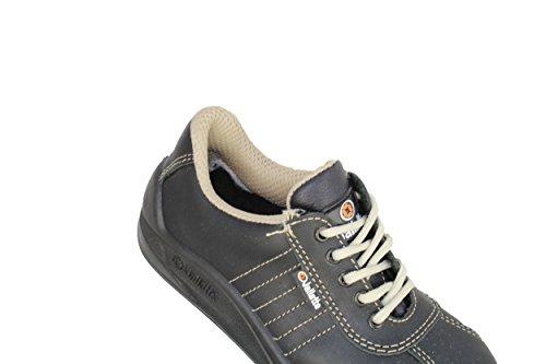 SAS HRO Noir basse S3 sécurité JALCAMPO Chaussures de cuir FwHUxvnX