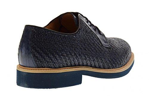Antica Cuoieria Scarpe Uomo Classiche 20113-s-v05 Siriana Blu