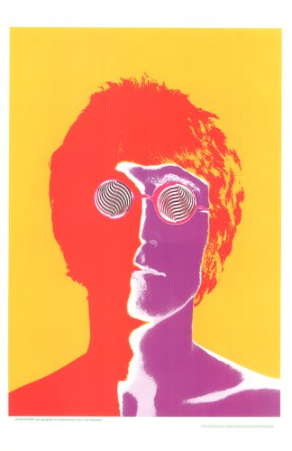 - John Lennon, Beatles, 11x17 Inch Digital Poster Reproduction By Richard Avedon