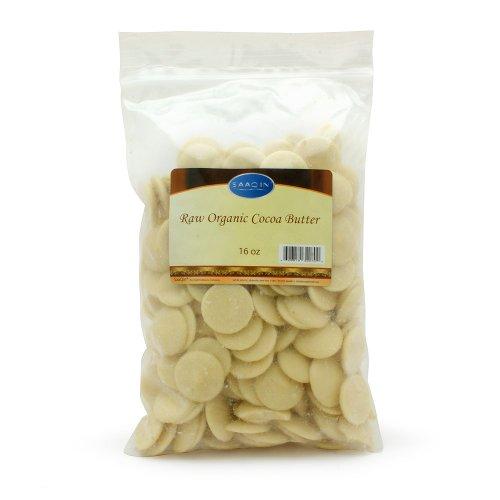 Raw Organic Cocoa Butter-16 ozs.