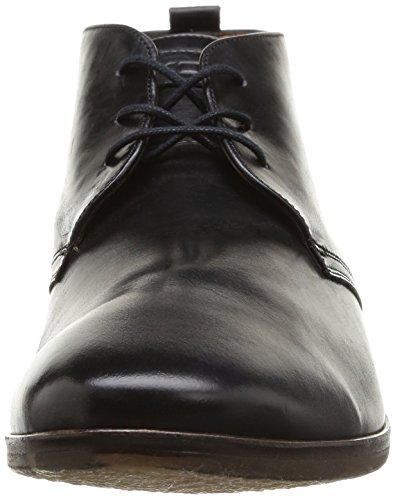 Kost Merle67 - Zapatos de Cordones de cuero hombre negro - negro