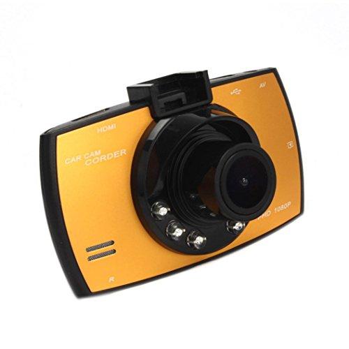 CreazyDog HD 1080P LCD Car DVR Dash Camera Crash Cam G-sensor Night Vision HDMI Ye