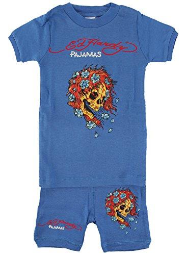- Ed Hardy Pajama Set for Toddlers - Blue