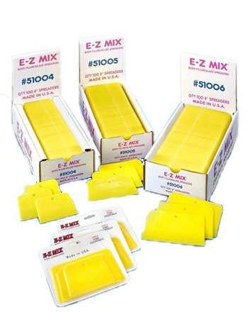 E-Z Mix 55005 5 Body Filler//Glaze Spreader 50 Pack